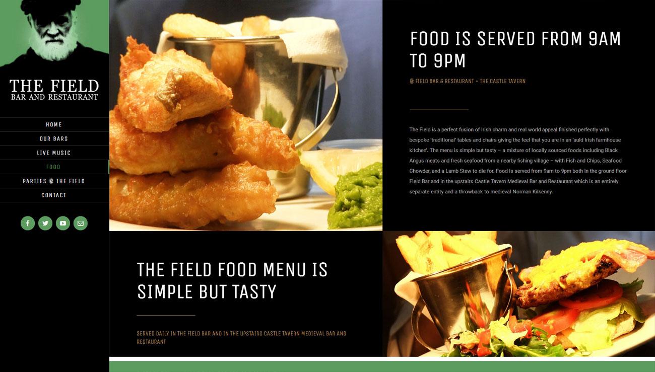 The Field Bar + Restaurant