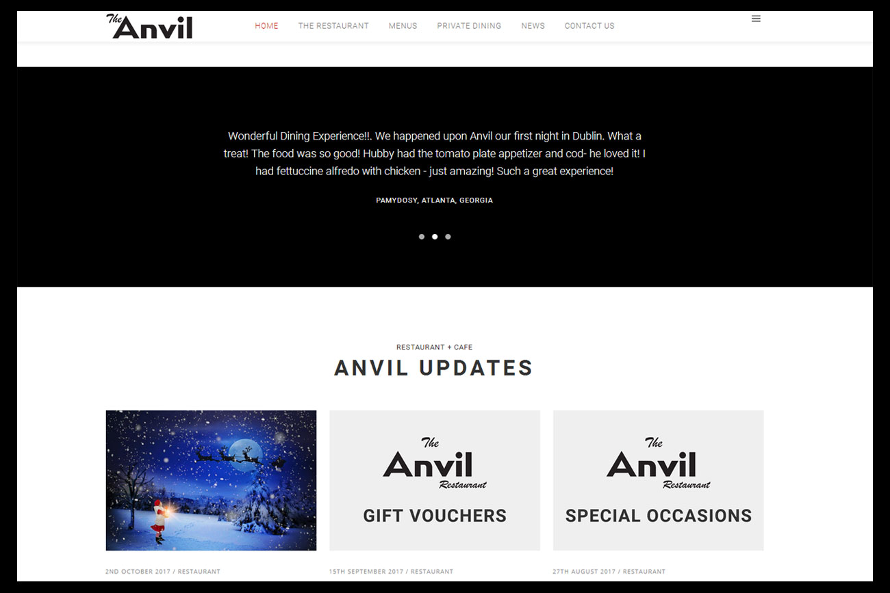 anvilrestaurant.ie