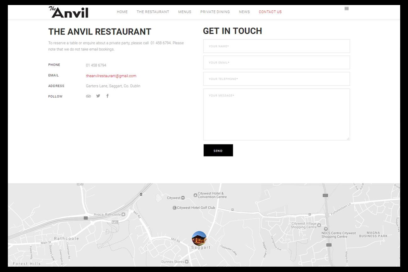anvilrestaurant.ie